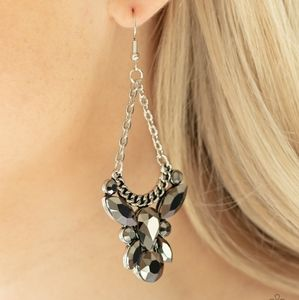 Mix and Match Jewelry Black Dress Earrings